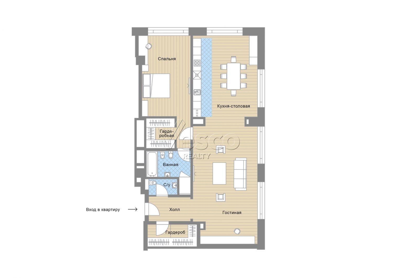 Планировка квартиры №82737