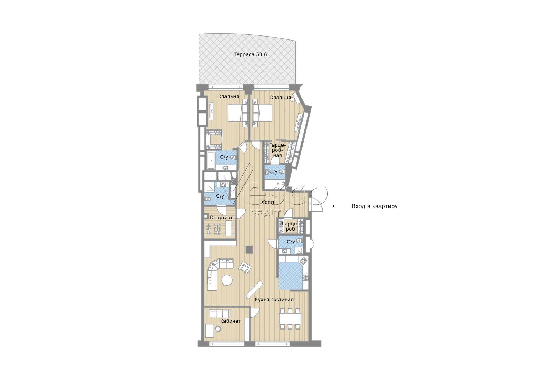 Планировка квартиры №82787