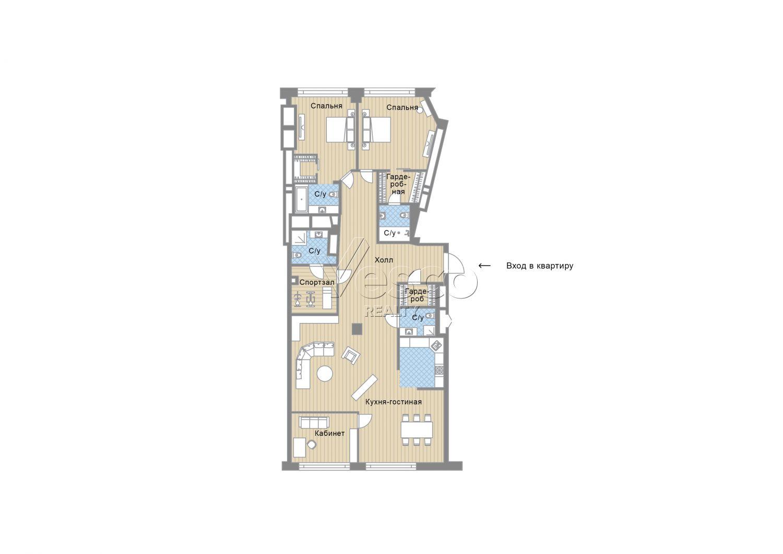 Планировка квартиры №82790