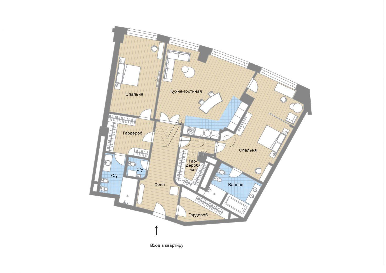 Планировка квартиры №82785