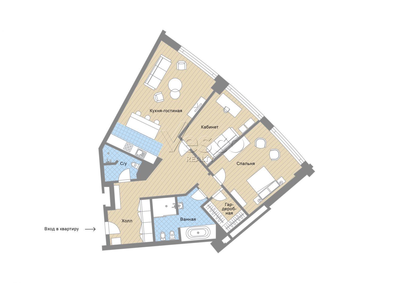 Планировка квартиры №82739