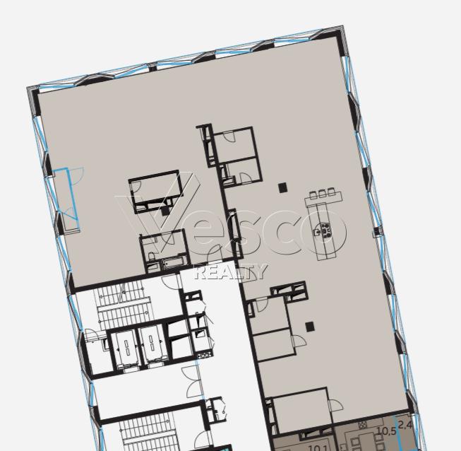 Планировка квартиры №80521