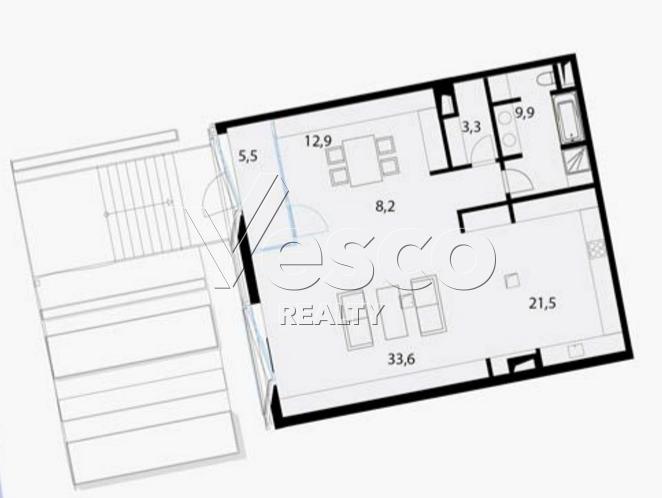 Планировка квартиры №80522