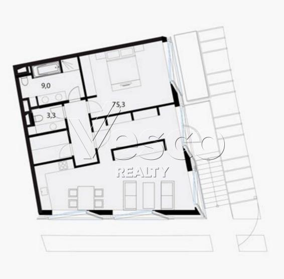 Планировка квартиры №80523