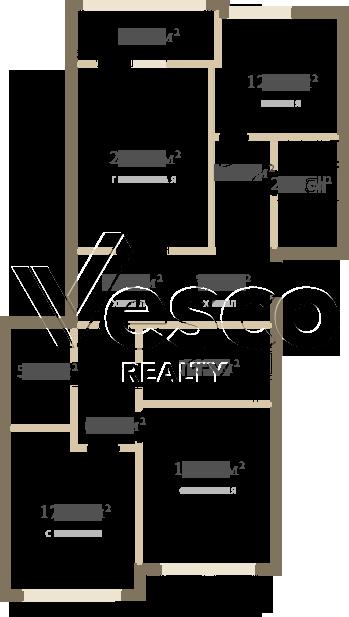 Планировка квартиры №84514