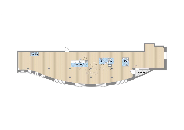 Планировка квартиры №83137