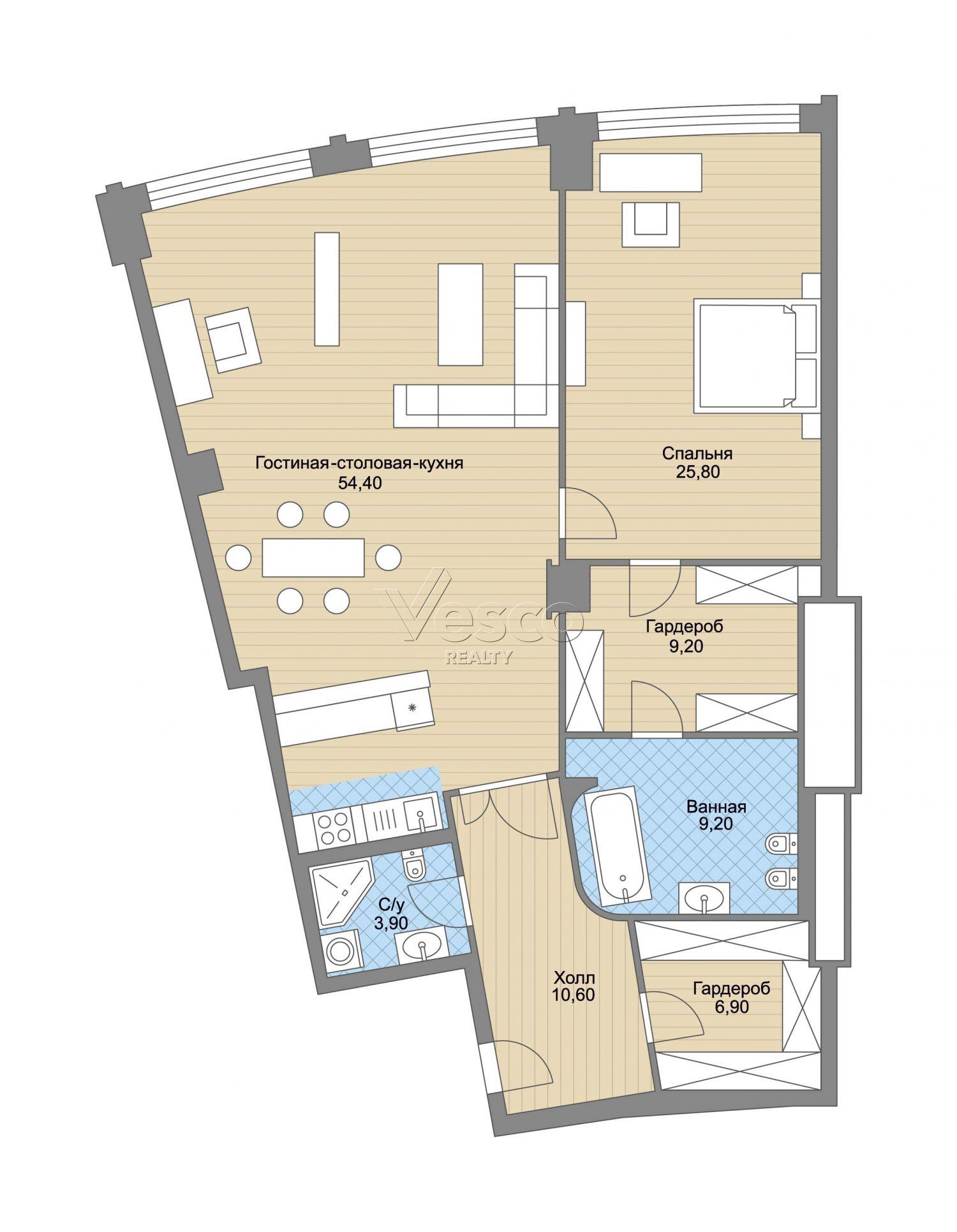 Планировка квартиры №82759