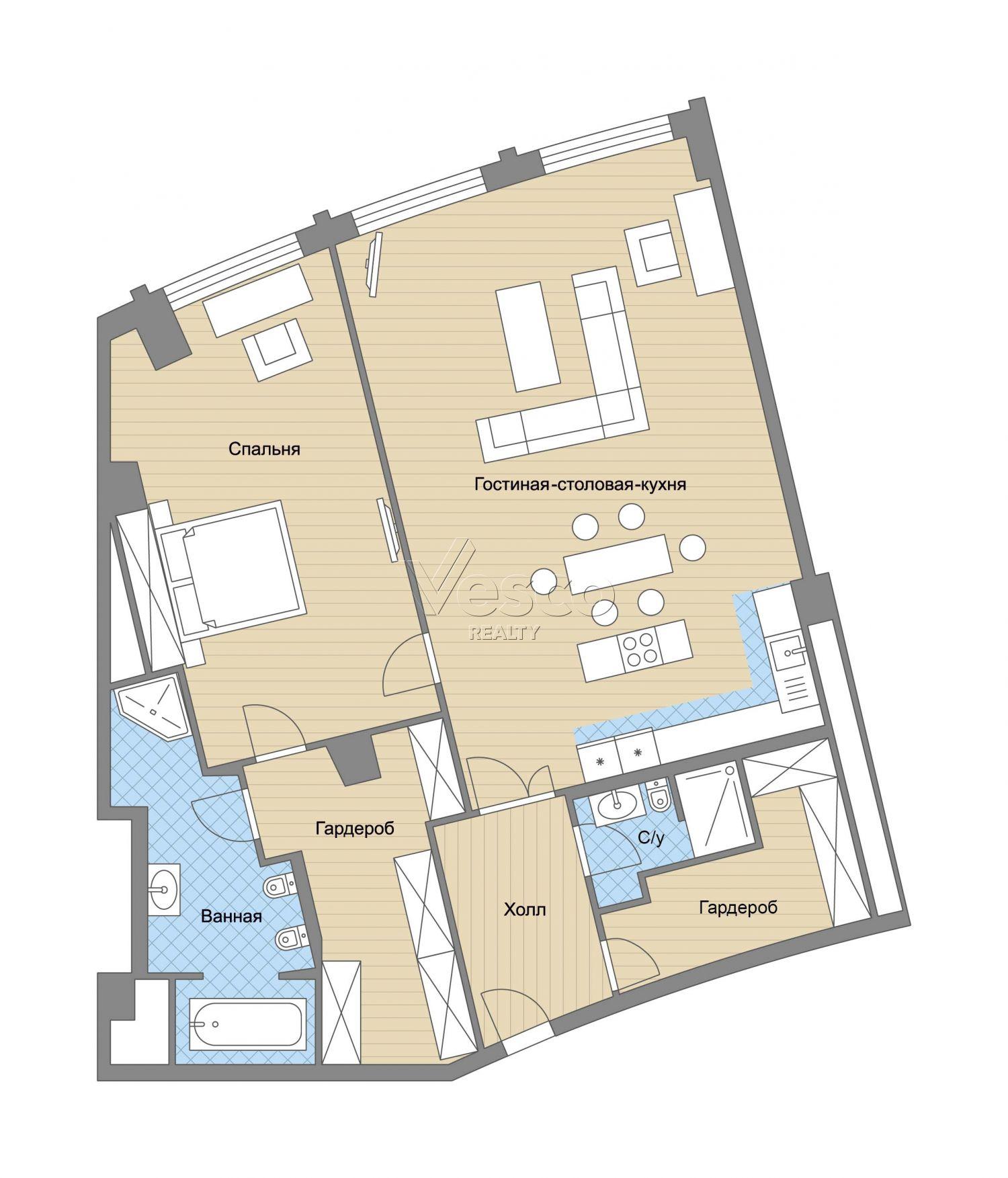 Планировка квартиры №82764