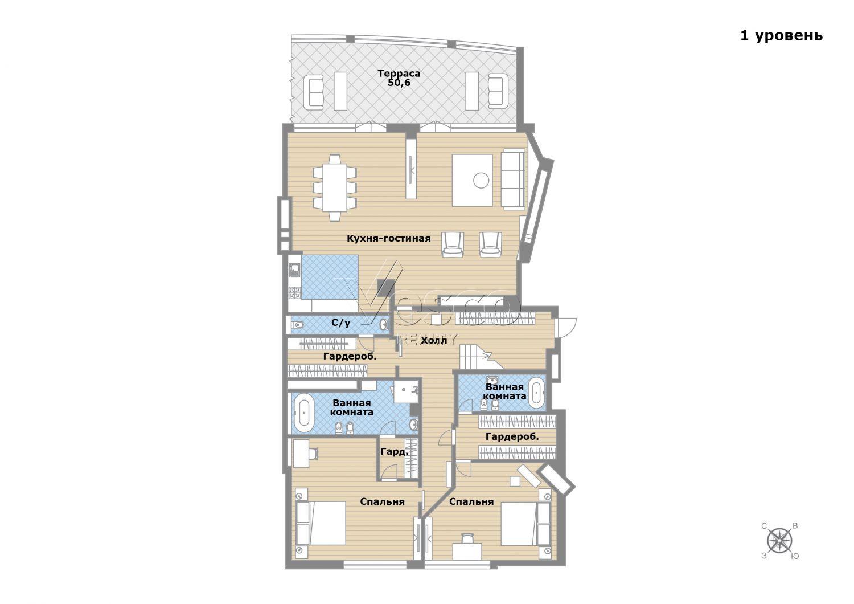 Планировка квартиры №82791