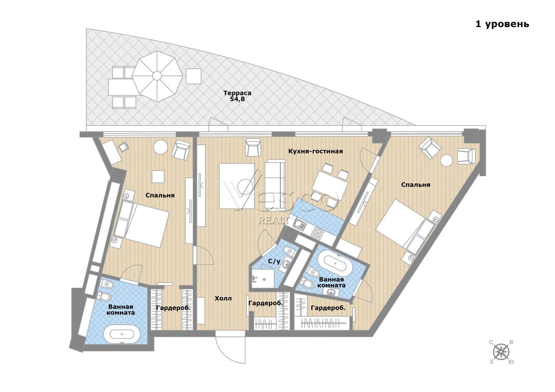 Планировка квартиры №84271