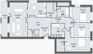Планировка квартиры №85692